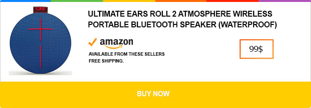 UE Roll 2 - The portable speaker with almost everything